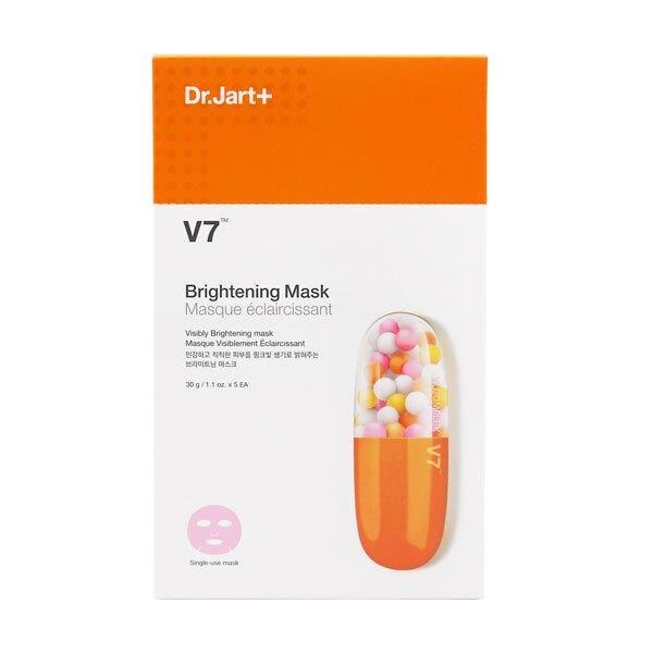 韓國 DR.JART+ V7維他命超肌光粉紅潤透面膜 5枚入/盒【特價】異國精品
