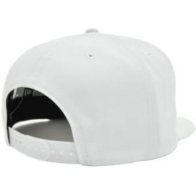 キャップ - stylise ニューエラ キャップ ◆ NEW ERA 9FIFTY THRASHER スラッシャー オプティックホワイト × ブラック12082869 メンズ 帽子 ロゴ 刺繍 コラボ スケート