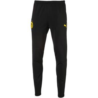 【プーマ公式通販】 プーマ ドルトムント BVB トレーニング パンツ メンズ Puma Black-Cyber Yellow |PUMA.com