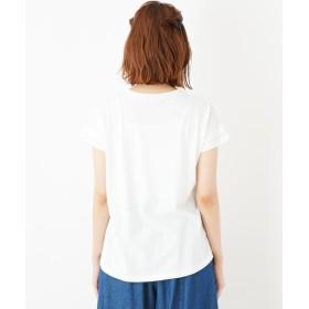 Tシャツ - Cutie Blonde アニマルプリント Tシャツ
