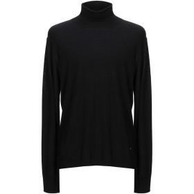 《期間限定セール開催中!》EMPORIO ARMANI メンズ タートルネック ブラック XXL ウール 100%