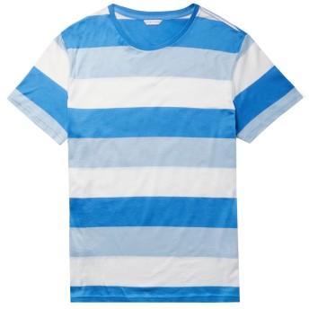 《9/20まで! 限定セール開催中》ORLEBAR BROWN メンズ T シャツ アジュールブルー S コットン 100%