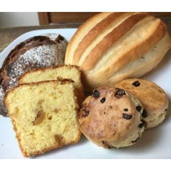 【定期便】城下町の自然派パン屋さん「かどぱん」季節のパンと焼菓子セット春夏秋冬4回コース