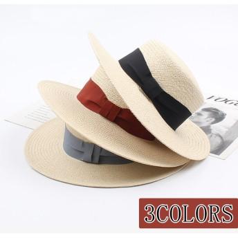 麦わら帽子 メンズ春夏 レディースハット 帽子 麦わら帽子 UV 丈夫 中折れハット帽 つば広帽子 日焼け対策 おしゃれ 女優帽