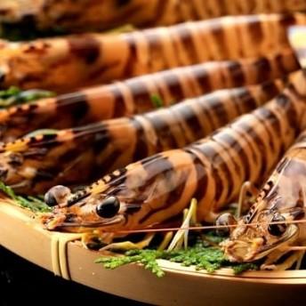 殻ごと食べられる冷凍車海老 300gパック