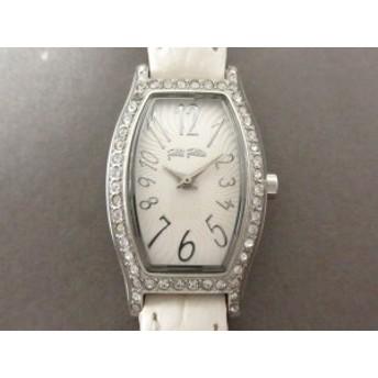 フォリフォリ FolliFollie 腕時計 WF8A026SP レディース 白【中古】20190629