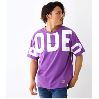 【Rodeo Crowns/RODEO CROWNS WIDE BOWL:トップス】メンズ VARIOUS LOGO BIG Tシャツ