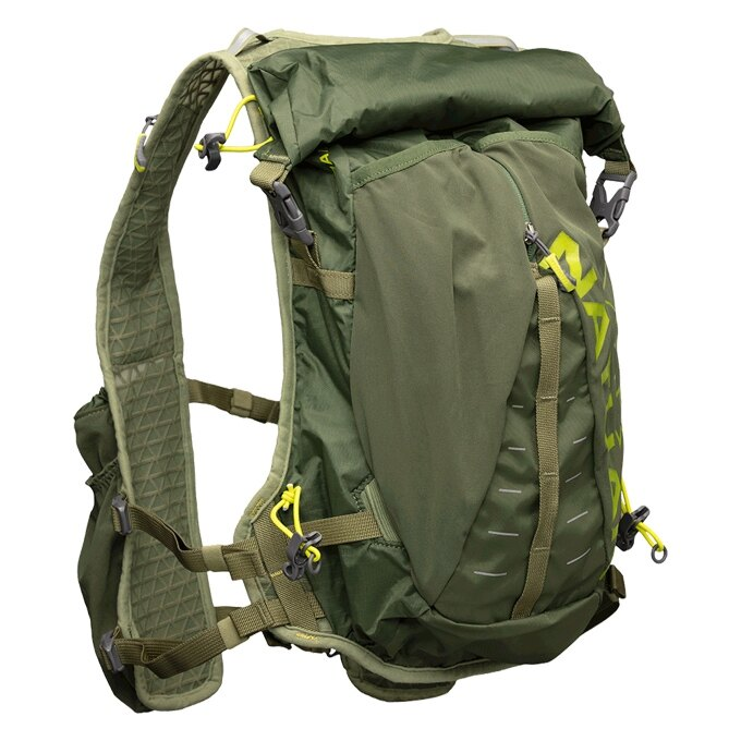 NATHAN - Trail -Mix 大超馬米克斯水袋背包 2L (銅綠) NA4765BG,送汗樂導汗帶套頭式乙條