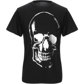 《セール開催中》BOLONGARO TREVOR メンズ T シャツ ブラック S コットン 50% / ポリエステル 50%