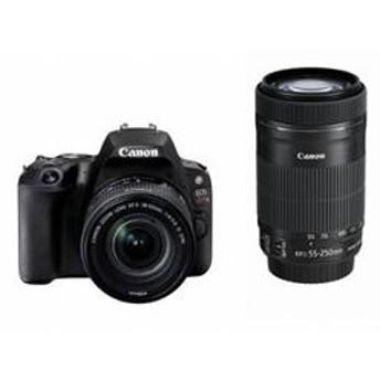 デジタル一眼レフカメラ EOS Kiss X9 ダブルズームキット ブラック EOSKISSX9BK-WKIT