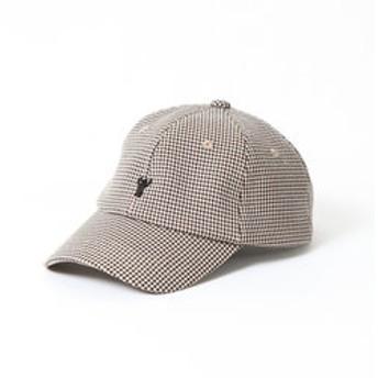 【coen:帽子】ガンクラブチェックコーエンベアキャップ
