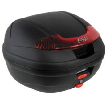 ジビ GIVI モノロックケース 未塗装黒 (E340 VISIONシリーズ) WO店