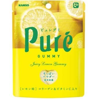 カンロ ピュレグミ レモン味 (56g)
