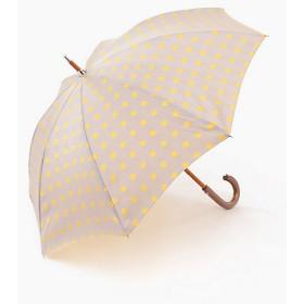 【SALE(伊勢丹)】<PRADELLE> ドットショート晴雨兼用傘 イエロー×グレー(A) 【三越・伊勢丹/公式】