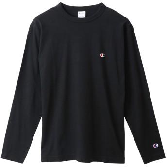 大きいサイズ ロングスリーブTシャツ 19FW ベーシック チャンピオン(C3-P401L)【5400円以上購入で送料無料】