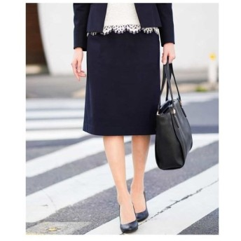 MICHEL KLEIN / 【洗える/セットアップ対応】トリコットセミフレアスカート
