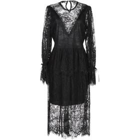 《期間限定セール開催中!》ANIYE BY レディース 7分丈ワンピース・ドレス ブラック L ナイロン 100%