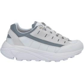 《セール開催中》DIEMME レディース スニーカー&テニスシューズ(ローカット) ホワイト 40 革 / 紡績繊維