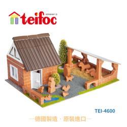【德國teifoc】益智磚塊建築玩具 - TEI4600
