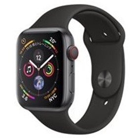 ★Apple Watch Series 4 GPS+Cellularモデル 44mm MTVU2J/A [ブラックスポーツバンド]