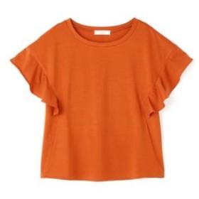 (FREE'S MART/フリーズマート)シルケット袖フレアカットソー/レディース オレンジ