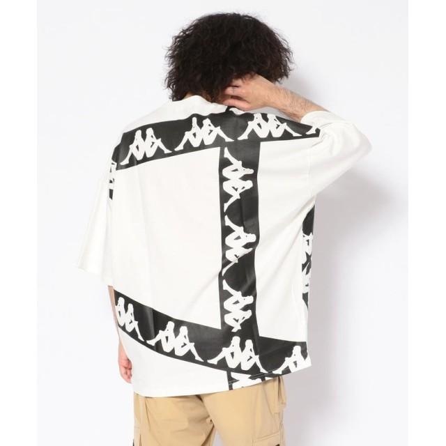 エルエイチピー Kappa/カッパ/ラインオムニロゴ ビッグTシャツ メンズ WHITE L 【LHP】