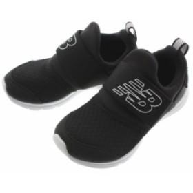 子供 ニューバランス New balance スニーカー IOPRES (PREMUS SLIP ON INFANT) ブラック BK