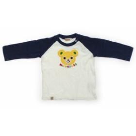 【ミキハウス/mikiHOUSE】Tシャツ・カットソー 70サイズ 男の子【USED子供服・ベビー服】(420849)