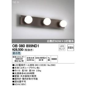 βオーデリック/ODELIC ブラケットライト【OB080899ND1】LED電球ボール球形 昼白色