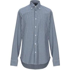 《セール開催中》ELGIN & RIDLEY by TT メンズ シャツ ブルー 39 コットン 100%