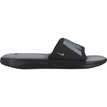 [NIKE]ナイキ スポーツサンダル ウルトラ コンフォート 3 スライド (AR4494005)(005) ブラック/メタリッククールグレー/クールグレー[取寄商品]