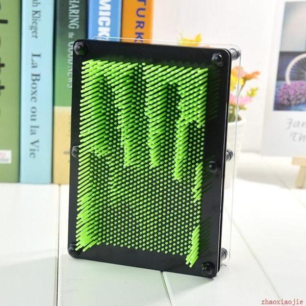 3d立體百變針畫臉印三維針雕手模克隆成人兒童創意新奇禮品