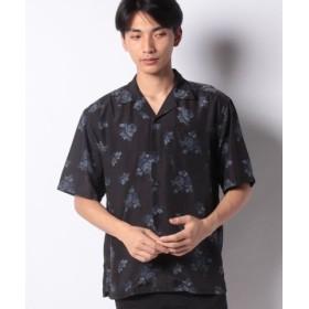(WEGO/ウィゴー)パターンプリントオープンカラーシャツ(S)/メンズ パターン9