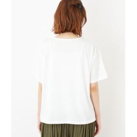 Tシャツ - Cutie Blonde BOXラインロゴTシャツ