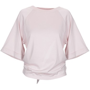 《9/20まで! 限定セール開催中》MAURO GRIFONI レディース T シャツ ライトピンク S コットン 100%