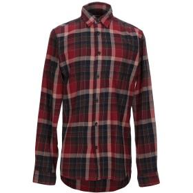 《期間限定セール開催中!》SELECTED HOMME メンズ シャツ レンガ S コットン 100%