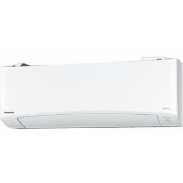 パナソニック CS-EX639C2-W Eolia(エオリア) インバーター冷暖房除湿タイプ ルームエアコン 単相200V (クリスタルホワイト) (CSEX639C2W)