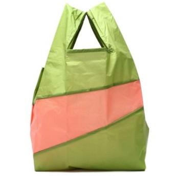 (GALLERIA/ギャレリア)スーザンベル エコバッグ SUSAN BIJL トートバッグ UNTITLED The New Shoppingbag L 53193-2-01011/ユニセックス グリーン