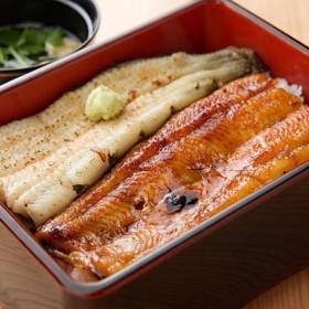 浜松・浜名湖 うなぎ蒲焼白焼2人前(110gX2) 干物・漬魚・うなぎ・魚卵