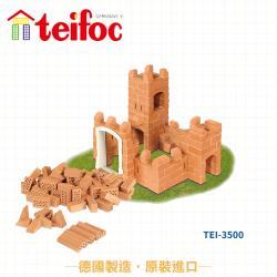 【德國teifoc】益智磚塊建築玩具-小波特城堡 TEI3500