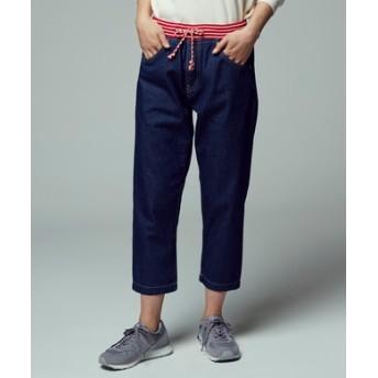 Pepe Jeans デニムイージーパンツ レディース 濃色