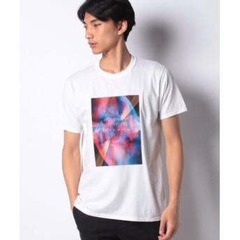 (LiFESiZE/LiFESiZE)FRUIT OF THE LOOM プリントTシャツ/メンズ ホワイト