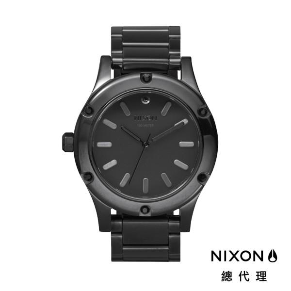 NIXON CAMDEN 時尚經典 亮黑 鋼錶帶 手錶 潮人裝備 潮人態度 禮物首選