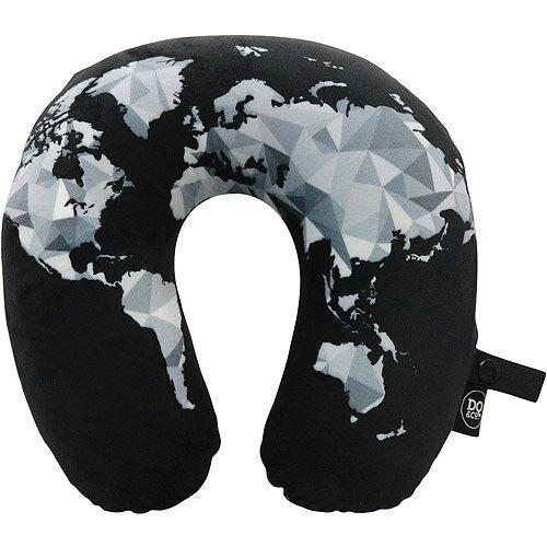 《DQ》U型護頸記憶枕(幾何地圖)