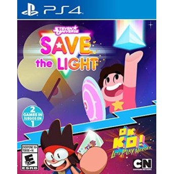 Stephen Universe: Save the Light & OK K.O.! Let's Play Heroes (輸入版:北米) - PS