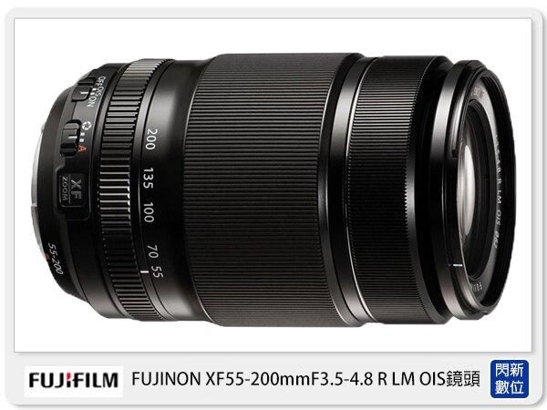 【滿3000現折300+點數10倍回饋】FUJIFILM 富士 XF 55-200mm F3.5-4.8 R LM OIS 鏡頭 黑 ( 55 200 :恆昶公司貨 一年保固 )【滿3000現折300