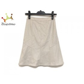 ニジュウサンク 23区 スカート サイズ30 XS レディース 美品 ベージュ 新着 20190702