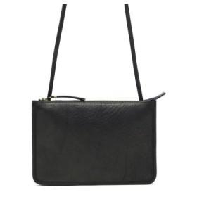 (GALLERIA/ギャレリア)スロウ SLOW サコッシュ 本革 belly ベリー game pouch shoulder bag ゲームポーチショルダーバッグ 49S183H/ユニセックス ブラック