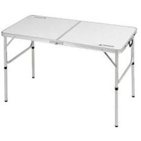 10%OFFクーポン対象商品 キャンプ用品 ラフォーレ アルミツーウェイテーブル アジャスター付 M 120×60cm クーポンコード:KZUZN2T