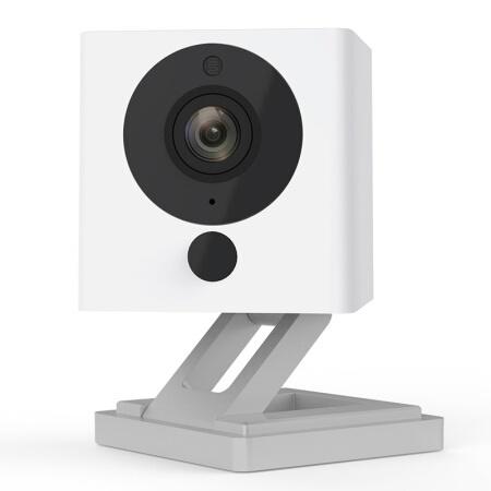 【正品】小方智慧攝像1S080P超清分辯率/紅外夜視/組合玩法/延時攝影/手機直連,沒網也能用/移動電源供電